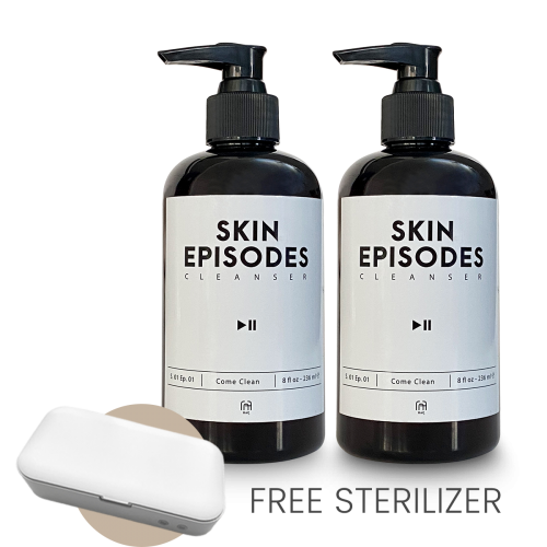 Behind The Scene Skin Episodes Come Clean with UV Sterilizer