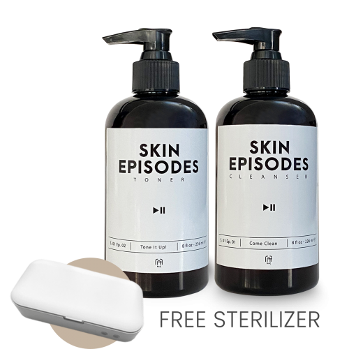 Skin Episodes Toner and Cleanser Combo with UV Sterilizer